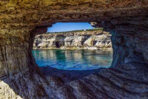 Cyprus - sea caves