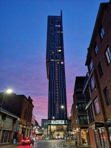 Manchester City Centre.